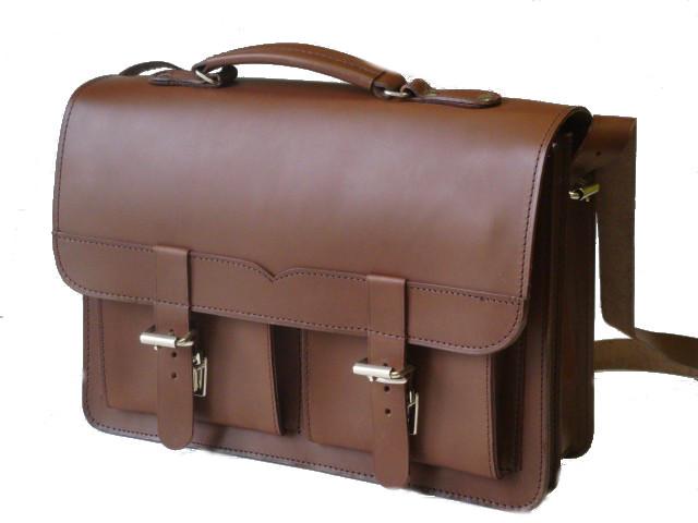 1cda6d43cac06 Teczka - plecak ze skóry naturalnej bydlęcej juchtowej, model 0190. Torba z  rączką w stylu vintage wykonana ze skóry natura.
