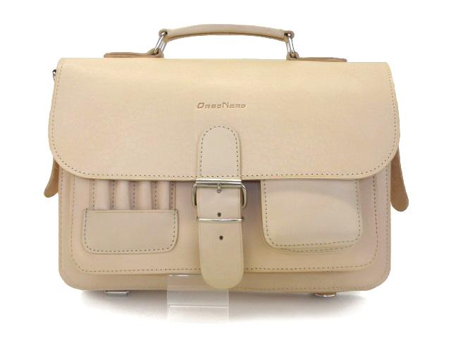 6e3cde36730ce Elegancka torba - teczka do ręki, model 0191.W zestawie regulowany pasek na  ramię oraz odpinane szelki na plecy, dzieki czemu może być używana także j.